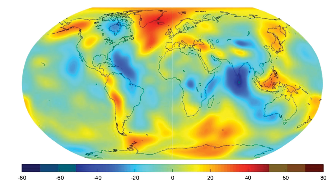 Gravity anomalies from decades of satellite tracking data prior to GRACE