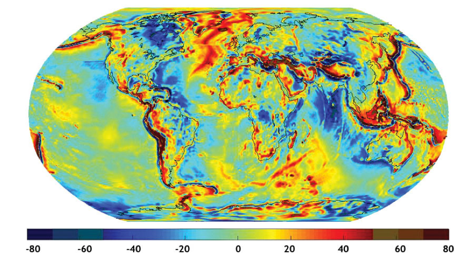 Gravity anomalies from ten years (2003-2013) of GRACE data and four years of GOCE data (GGM05G)